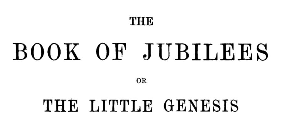 Book of Jubilees - PDF