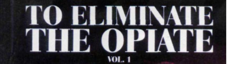 To Eliminate The Opiate Vol 1 - Marvin S. Antelman